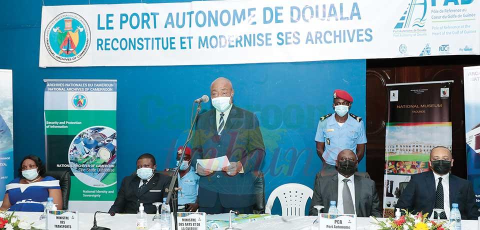Modernisation des archives : le Port autonome de Douala à la page