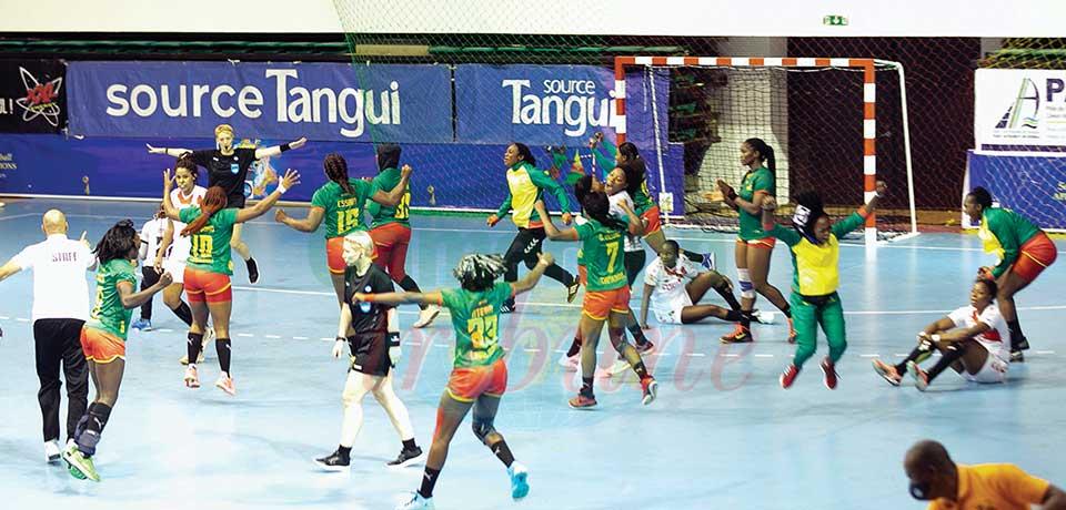 CAN de handball dames : les Lionnes en finale
