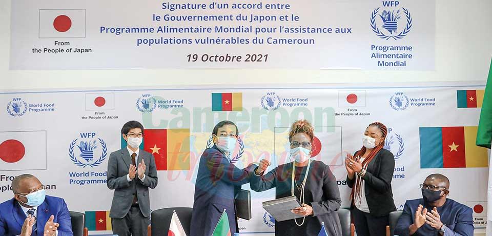 Lutte contre l'insécurité alimentaire : le Japon offre plus d'un milliard de F