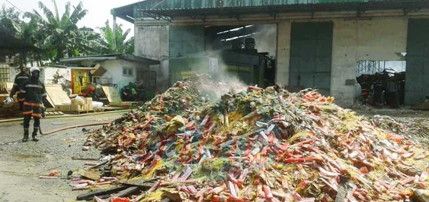 Bassé: L'entrepôt de « Panzani » a pris feu