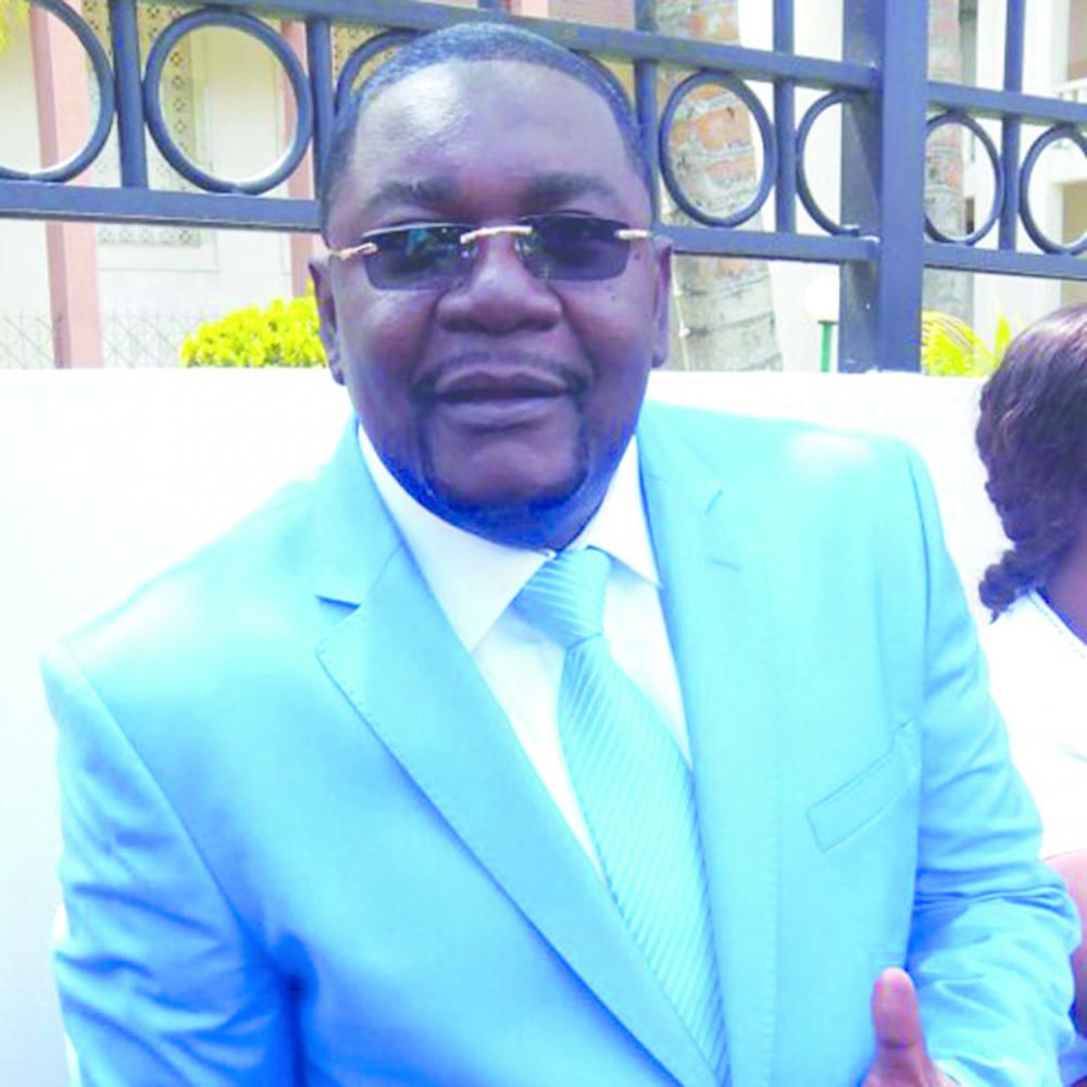 Paul Eric Kingue, président du Mouvement patriotique pour un Cameroun nouveau.