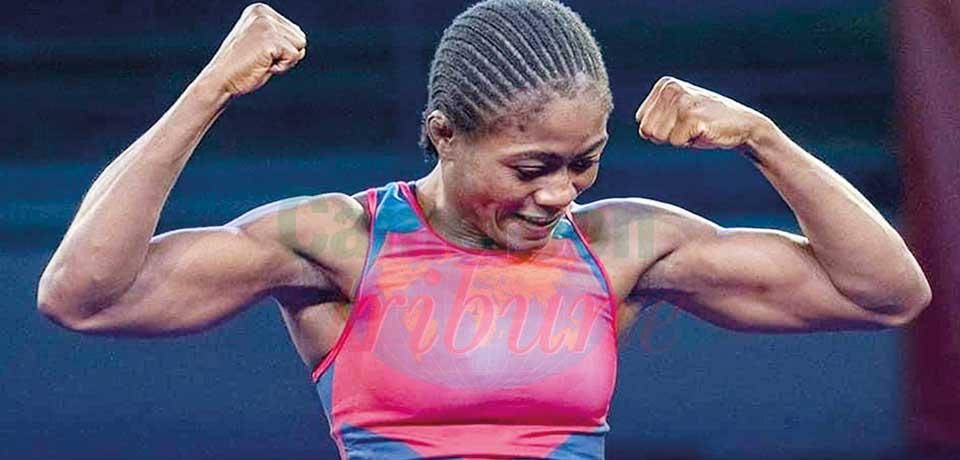 La reine des 53kg en lutte féminine.