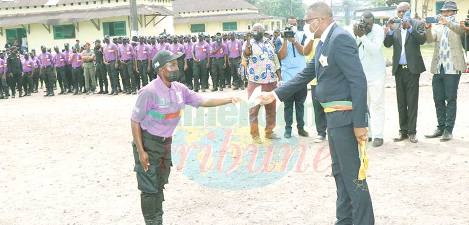 The objective of the training was to consolidate the civic and moral values of the municipal police.