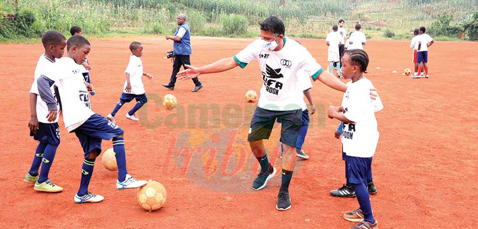 Youth Football : Semences Olympiques Partners With Brazilians