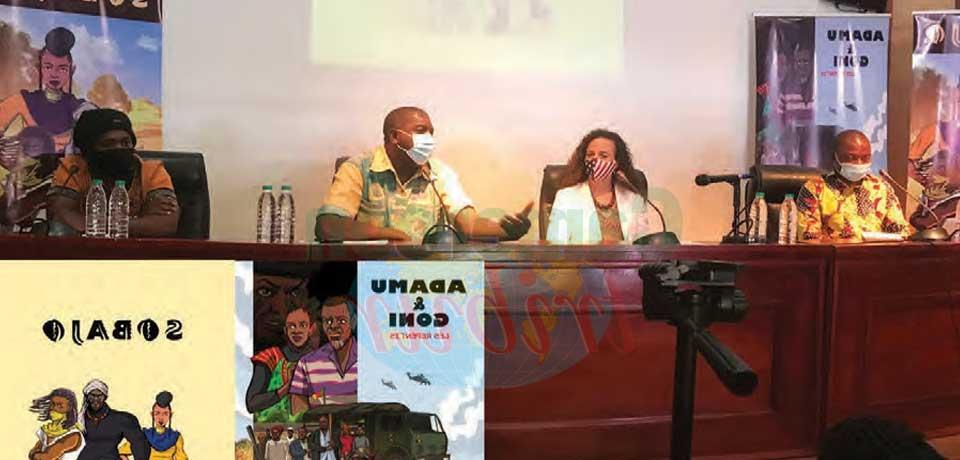 Deux ouvrages illustrés, dont un adapté de la série Tv « Adamu & Goni », ont été présentés par leur auteur, le cinéaste Cyrille Masso, le 8 février dernier à Yaoundé.