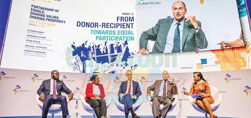 Des panels constructifs sur le partenariat entre l'Afrique et l'Europe.