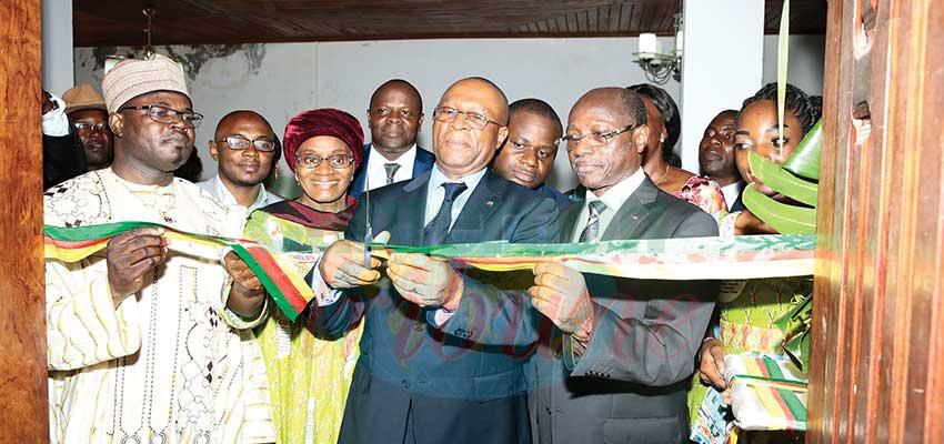 Naseri Paul Bea opens Ngoumou population to using ICT to curb HIV/STIs.