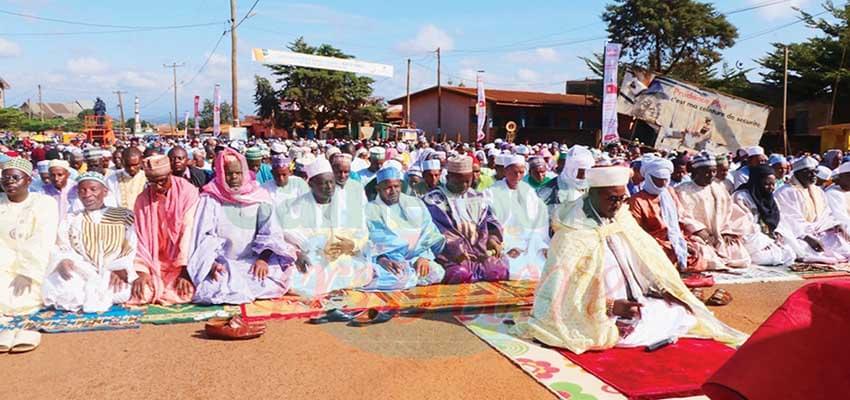 Bafoussam : la paix en point d'honneur