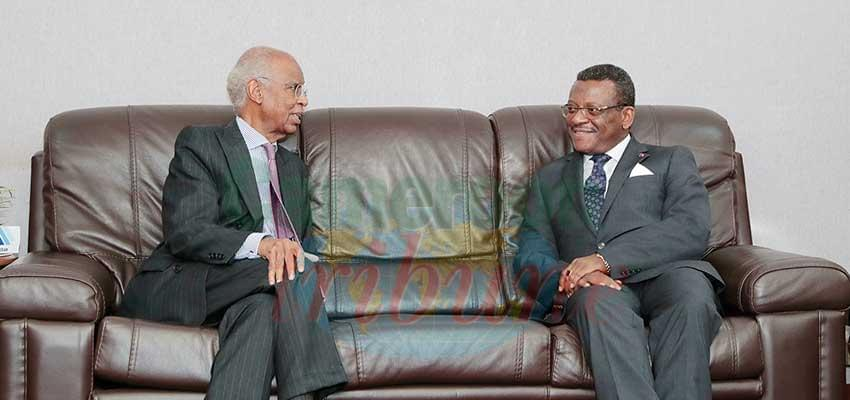 Peace and Stability In Central Africa:  PM Holds Talks With UN Envoy
