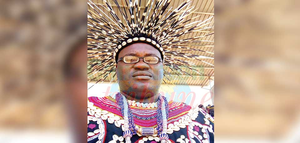 Fon Yakum Kevin, President of the North West House of Chiefs.