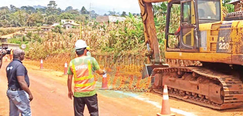 Autoroute Yaoundé-Douala (phase I) : les travaux de raccordement ont commencé