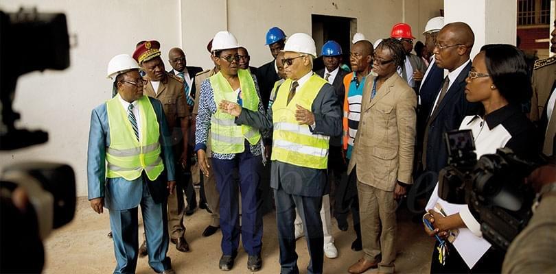 Image : Services judiciaires: on inspecte les chantiers