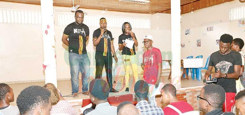 Bande dessinée  : Yaoundé s'anime