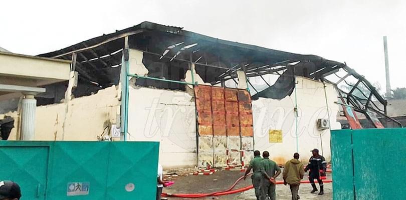 Incendie: Biopharma ravagé par les flammes