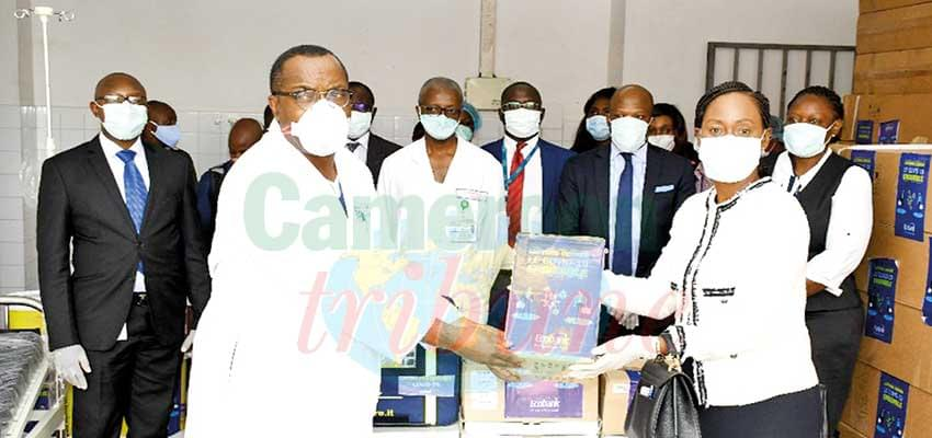 Hôpital Laquintinie de Douala : 100 lits et 7 respirateurs offerts