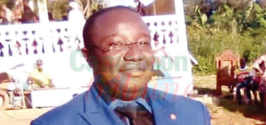 François Ehongo Engueno, secrétaire général de la commune de Ngoro dans le Mbam-et-Kim a été abattu à bout portant dimanche soir à son domicile par un individu cagoulé.