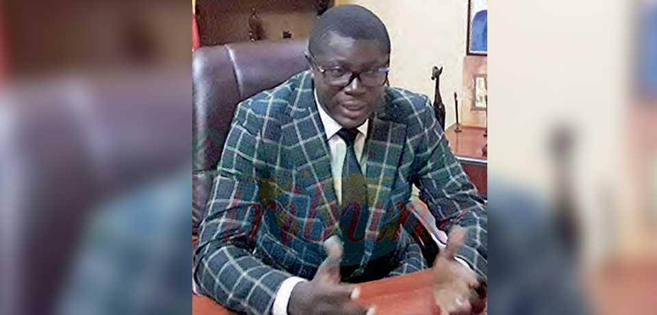 Dr Anicet Désiré Mintop, délégué régional de la Santé publique de l'Est.