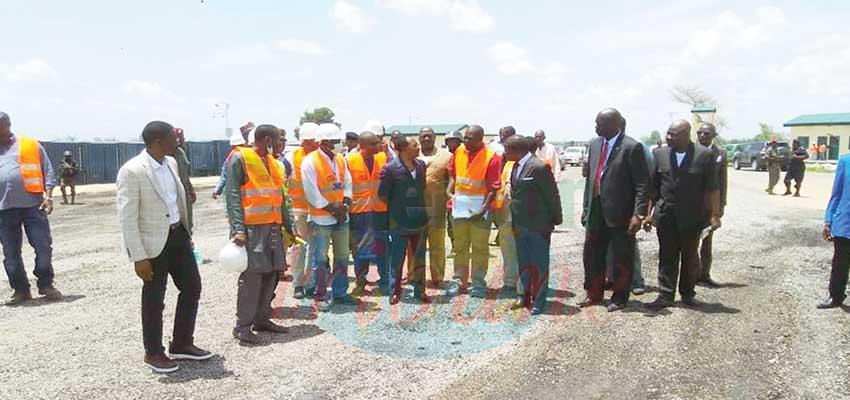 Réhabilitation de la route Maroua-Mora : 20 km de bitume déjà posés