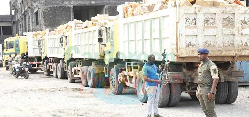 Douala : plus de 40 tonnes de produits contrefaits saisis
