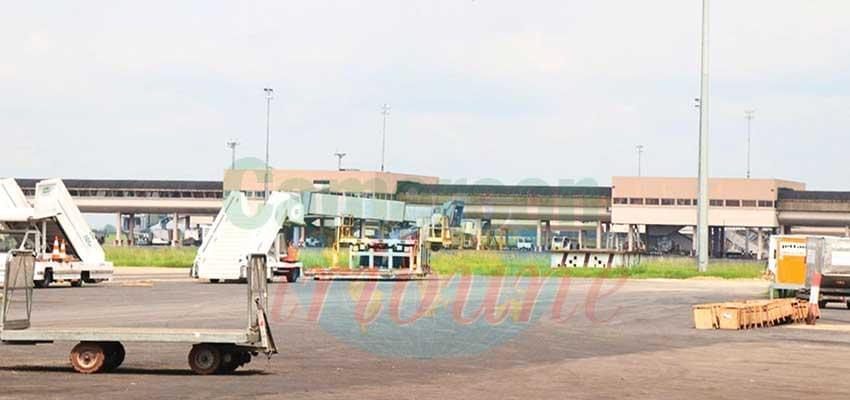 Douala Airport on Standstill