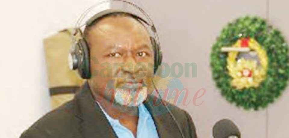 Célestin Djamen, président de l'Alliance patriotique et républicaine du Cameroun (APAR).
