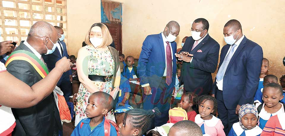 Promoting Basic Education : World Bank Lauds Cameroon's Efforts