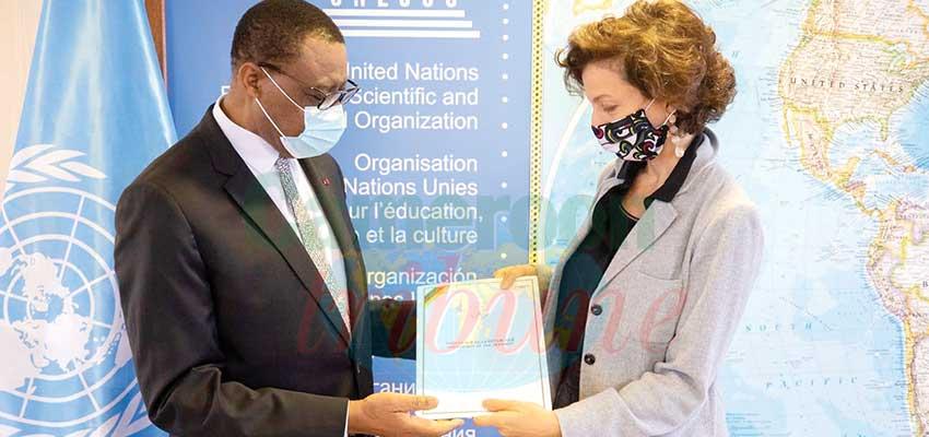 Unesco : le délégué permanent du Cameroun en poste