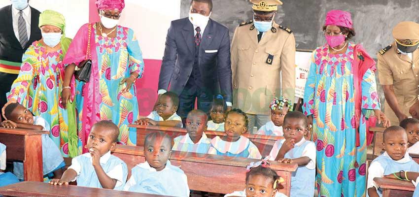 Dibamba : le Cerac réhabilite un groupe d'écoles