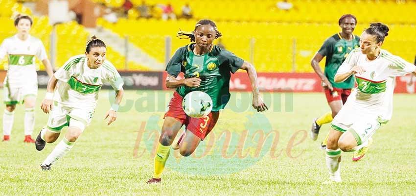 Eliminatoires J.O football féminin : les Lionnes en stage à Yaoundé