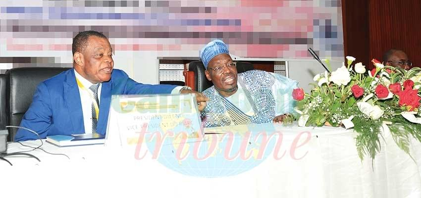 Image : Réseau africain de régulation de la communication: Peter Essoka, nouveau président