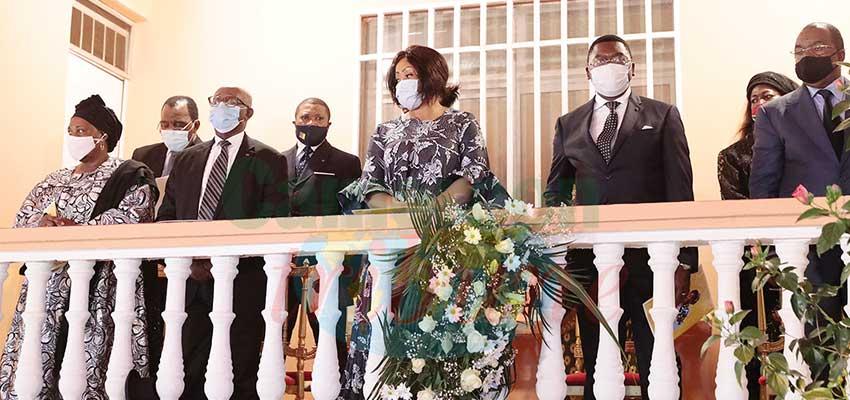Funeral Service : Sympathizers Prayer For Departed Regine Bidjang