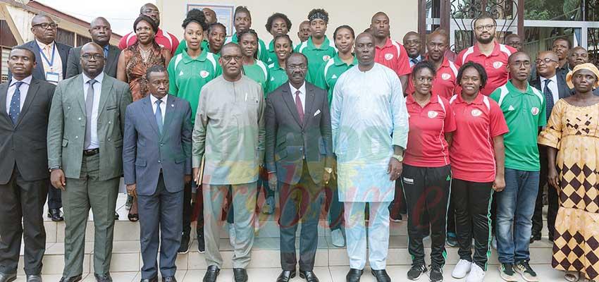 Afrobasket dames: la sélection nationale chez le Minse