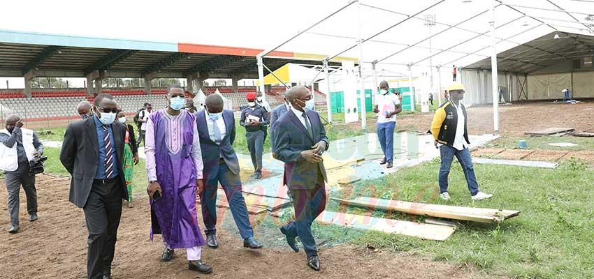 Centres spéciaux de prise en charge :  les installations du Stade militaire démantelées