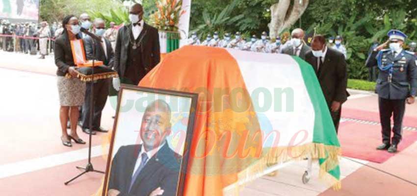 Côte d'Ivoire : l'hommage à Amadou Gon Coulibaly