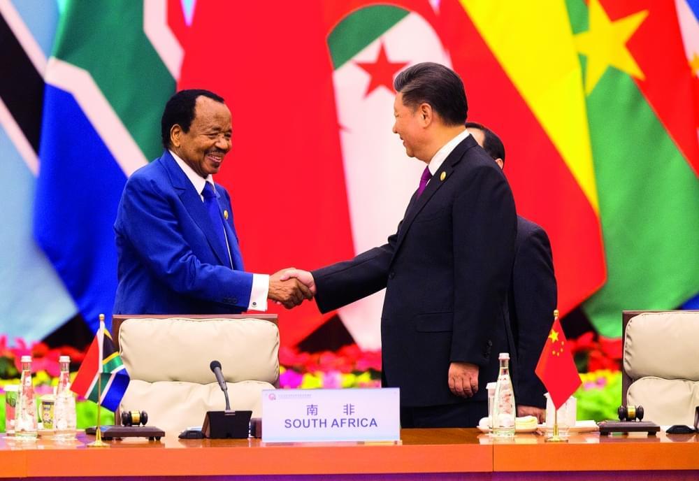 Image : Appel aux investisseurs chinois: l'offensive de Paul Biya