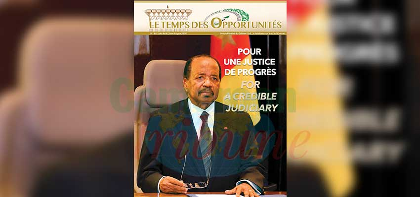 Managing COVID-19 : President Biya Keeps Cameroon At Higher Pedestal