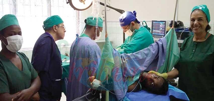 Santé:  Mbalmayo accueille une équipe médicale égyptienne