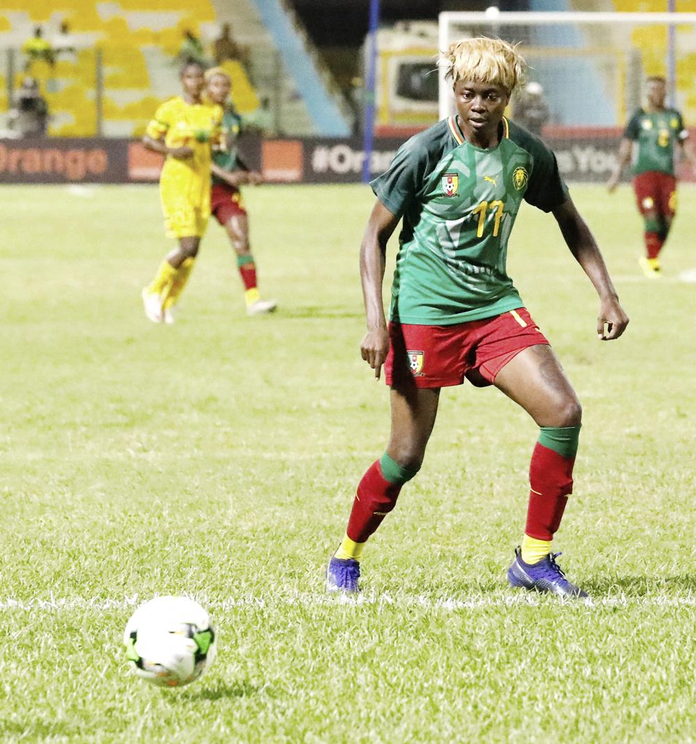Football féminin : fin de carrière pour Enganamouit ?