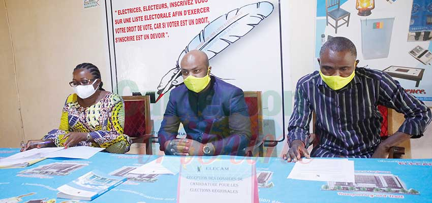 Regional Elections Candidacies : Apt Measures, Equal Treatment of Files