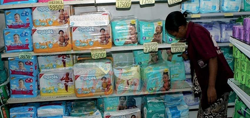 Couches jetables infantiles : dix marques autorisées