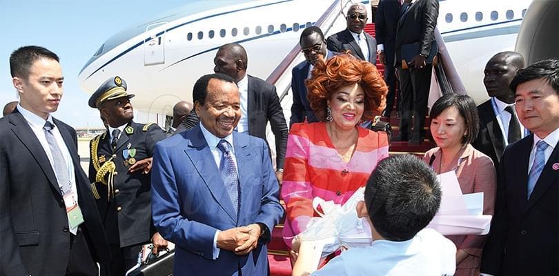 Image : Accueil chaleureux pour le couple présidentiel