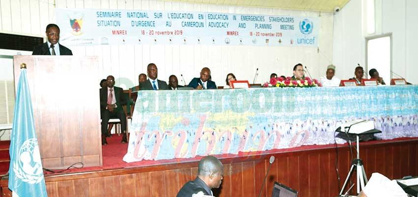 Education en temps de crise : des responsables à l'école