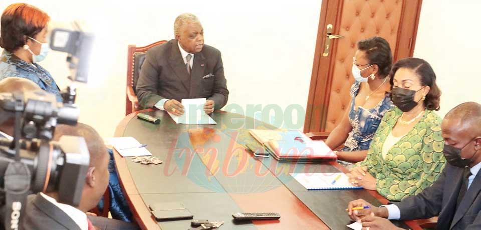 UPF-Cameroun : le nouveau bureau chez le Mincom