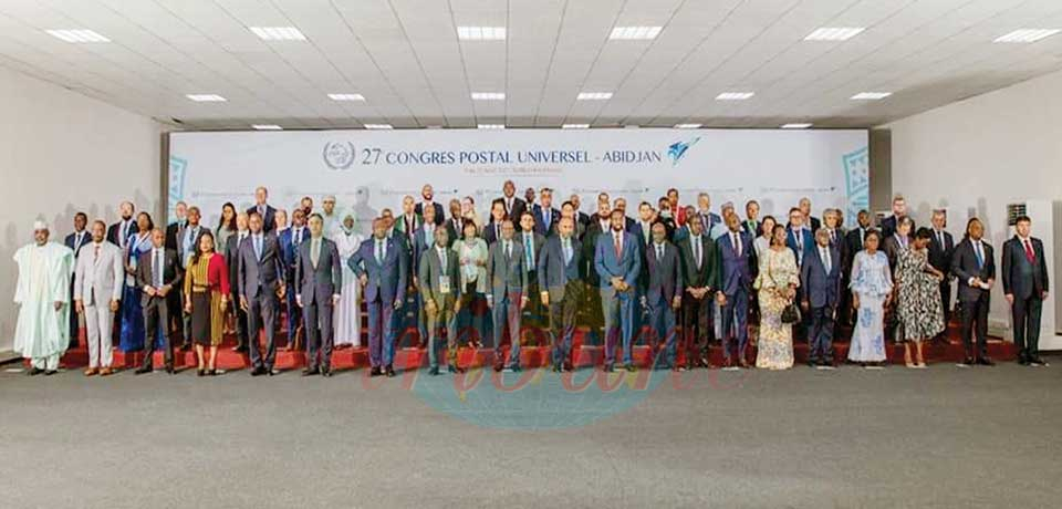 27th Congress of the Universal Postal Union : MINREX Represents Head of State