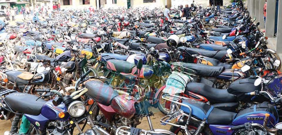 Une adhésion massive à l'assainissement du secteur des moto-taxis.