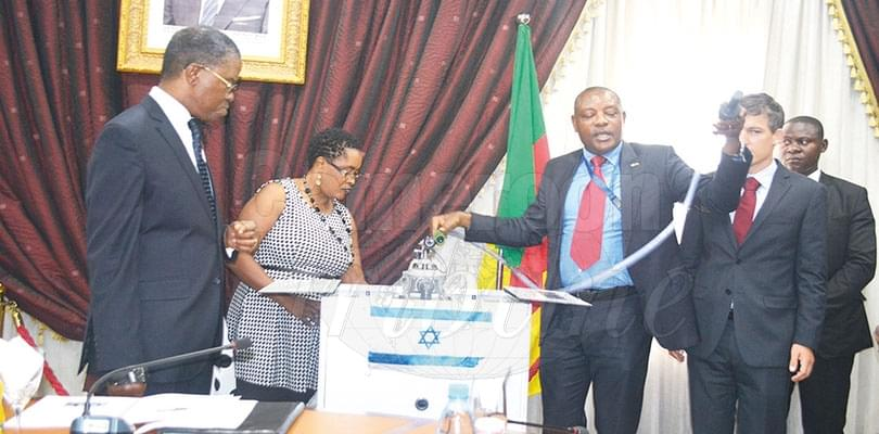Lutte contre le choléra: l'ambassade d'Israël aux côtés des populations