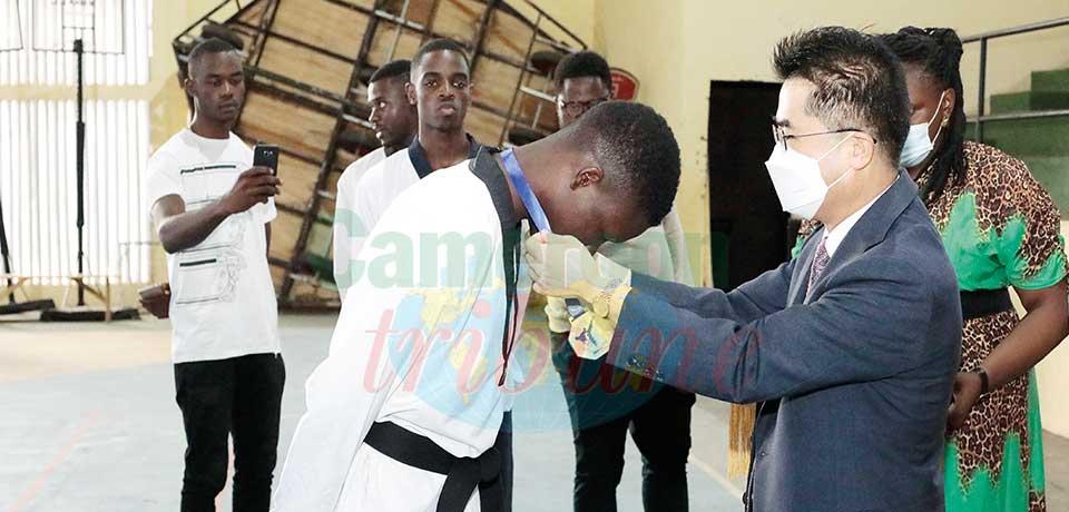 Taekwondo Cup of Cameroon : Academy Boni, Donkel Maldam Winners