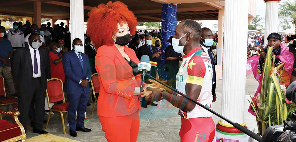 Meyomessala  : Chantal Biya, marraine fidèle