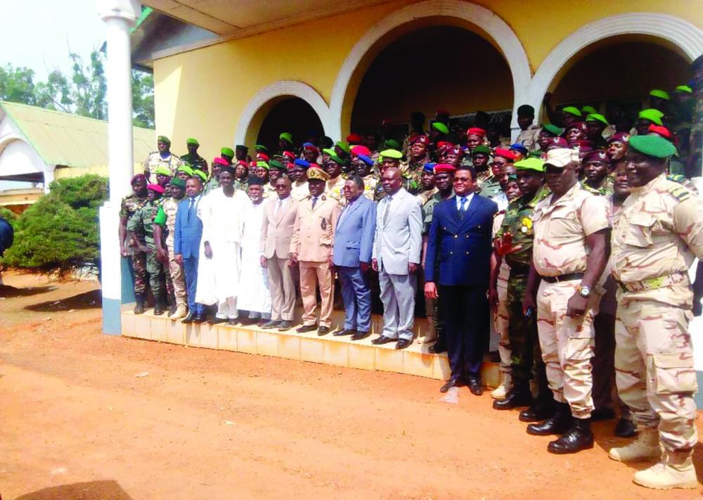 Adamaoua : 141 personnels des forces de l'ordre honorés