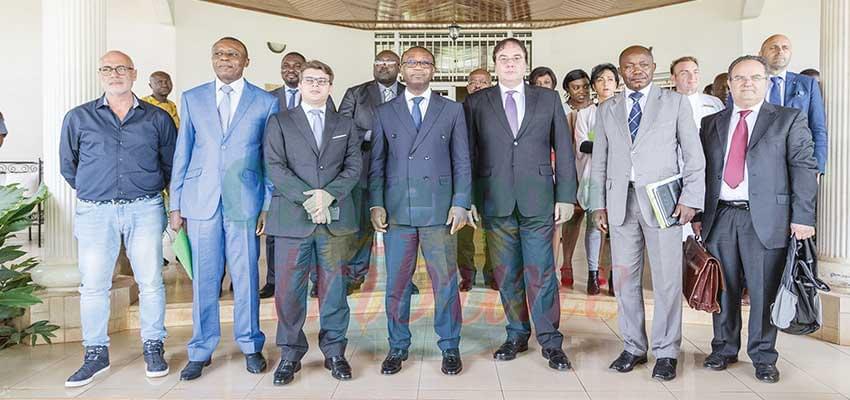 Rencontres B to B entre les Pme camerounaises et italiennes.